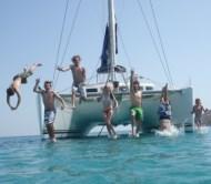Sail travel cabin charter 3